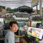 ลูกค้าร้านวัสดุก่อสร้างที่ใช้โปรแกรมคิดเงิน dmart