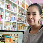 ลูกค้าร้านขายเครื่องสำอางที่ใช้โปรแกรมขายของ dmart