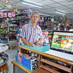 ลูกค้าร้านเครื่องเขียนที่ใช้โปรแกรมบิลเงินสด dmart