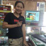 ลูกค้าร้านมินิมาร์ทที่ใช้โปรแกรมคิดเงินร้าน dmart