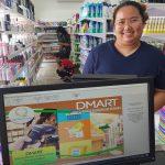 ลูกค้าร้านมินิมาร์ทที่ใช้โปรแกรมpos dmart