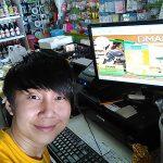 ลูกค้าร้านขายสินค้าที่ใช้โปรแกรมคิดเงิน dmart